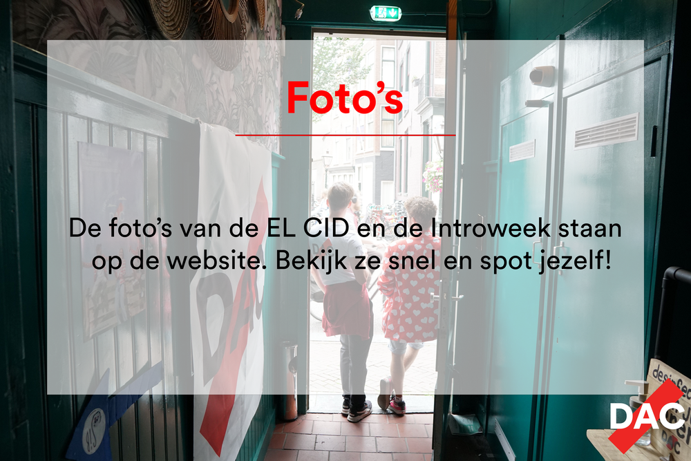 Foto's EL CID en Introweek